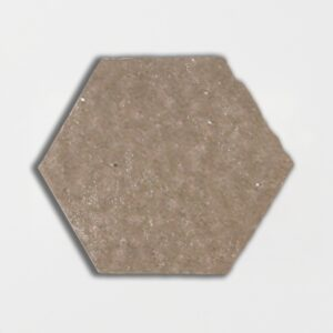 Copeland Taupe Glazed Hexagon Terracotta Tiles 6x6