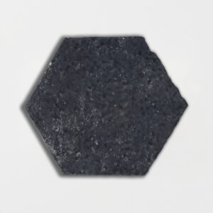 Flat Iron Glazed Hexagon Terracotta Tiles 6x6