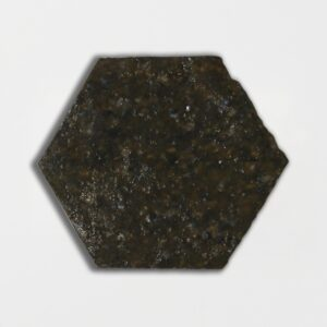 Buddakan Gray Glazed Hexagon Terracotta Tiles 6x6