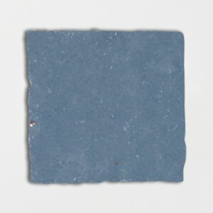 Peggy Blue Glazed Square Terracotta Tiles 6x6