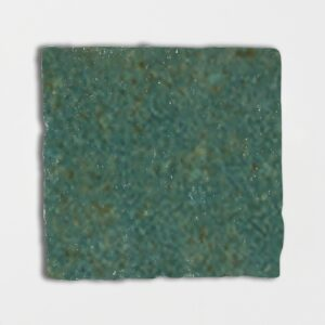 Joy Green Glazed Square Terracotta Tiles 6x6