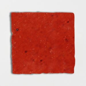 Avante Garde Orange Glazed Square Terracotta Tiles 6x6