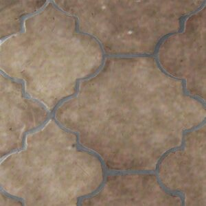 Copeland Taupe Glazed Riviera Terracotta Patterns Random