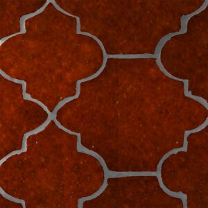 Woody Brown Glazed Riviera Terracotta Patterns Random