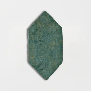 Joy Green Glazed Picket Terracotta Tiles 5x10