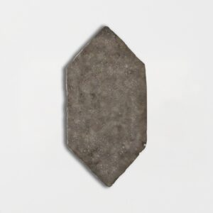 Agora Grey Glazed Picket Terracotta Tiles 5x10
