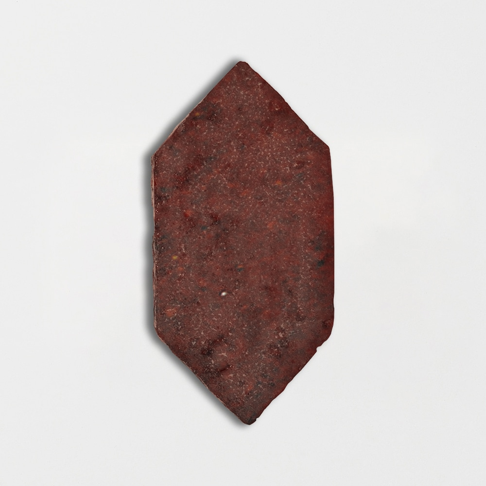Woody Brown Glazed Picket Terracotta Tiles 5x10