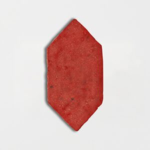Avante Garde Orange Glazed Picket Terracotta Tiles 5x10