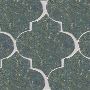 Free Spirit Glazed Arabesque Terracotta Tiles 9x10