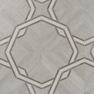 District Multi Finish Marquise Porcelain Waterjet Decos 16 1/16x16 1/16