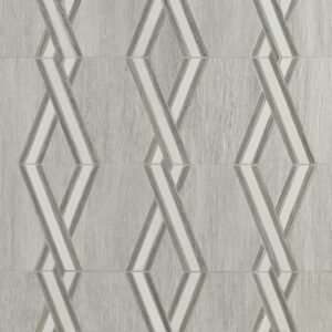 District Multi Finish Crossover Porcelain Mosaics 11 1/2x11 1/2