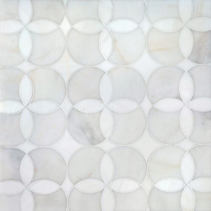 Avenza Light, Dolomite Multi Finish Constantine Marble Mosaics 13 5/8x13 5/8