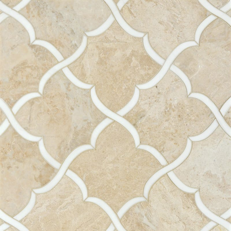 Diana Royal, Dolomite Multi Finish Gaia Marble Mosaics 13 7/16x13 7/8