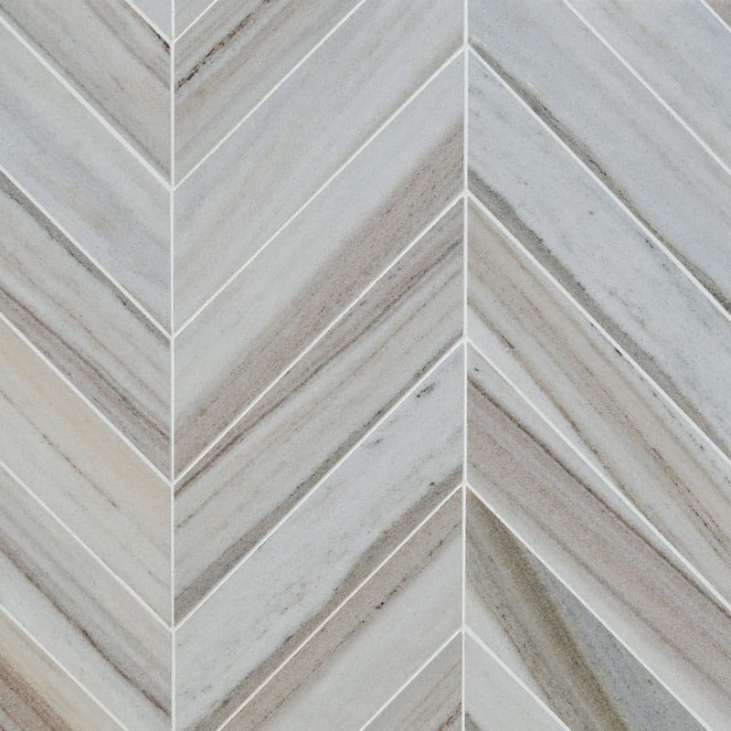Skyline Vc Multi Finish Bosphorus Marble Mosaics 13 7/16x 13 7/16