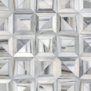 Horizon Honed Newman Marble Mosaics 11 3/4x11 3/4