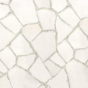 Thassos, Calacatta Tia Multi Finish Path Marble Mosaics Custom