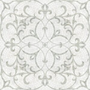 Thassos, Afyon White Multi Finish Marabel Marble Mosaics Custom