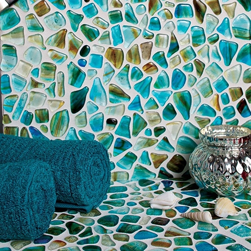 Riva Del Mar Glass Pebbles
