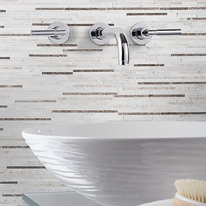 MASSA POLISHED BAMBOO MARBLE MOSAICS (MS01156)