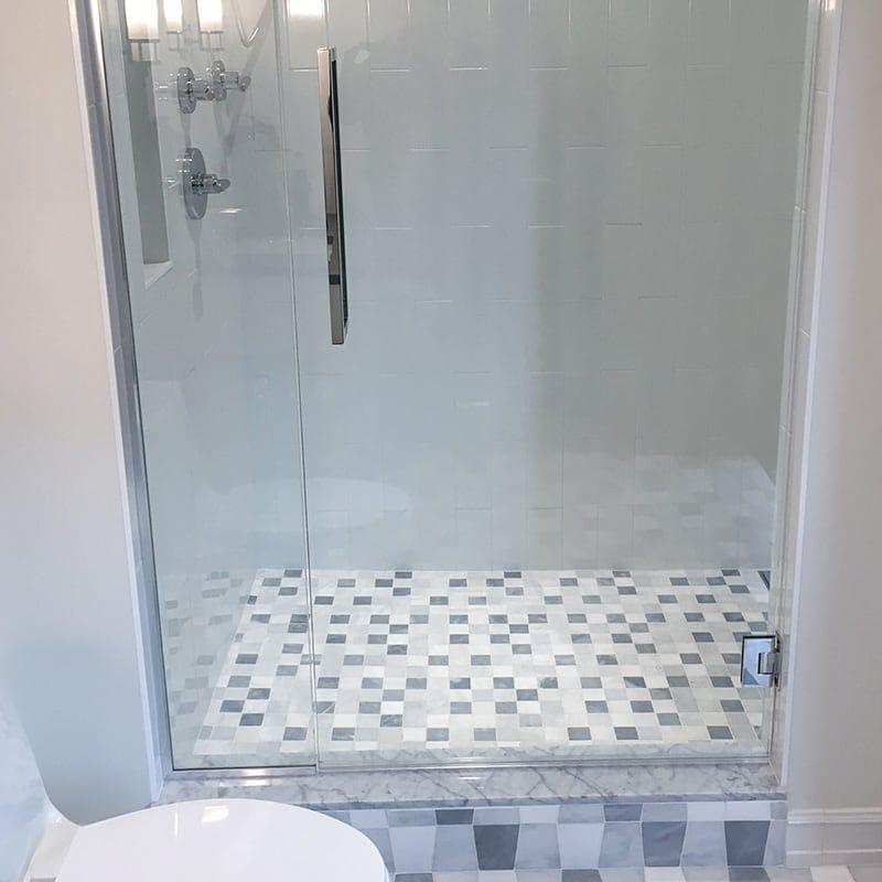 Avenza&snow White&allure Textured 2x2 Marble Mosaics 12x12