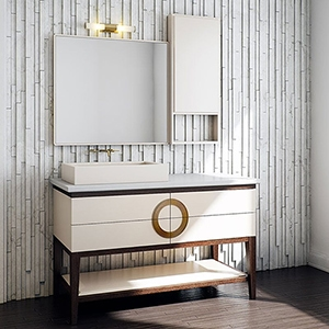 MALABAR CABINET# VANITIES (PS70006) LINEN WHITE MALABAR MIRROR (PS70047) LINEN WHITE MALABAR CABINET# VANITIES (PS70051)