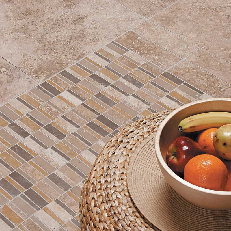 Walnut dark honedfilled travertine tiles 2 34x5 12 country walnut dark honedfilled travertine tiles ppazfo