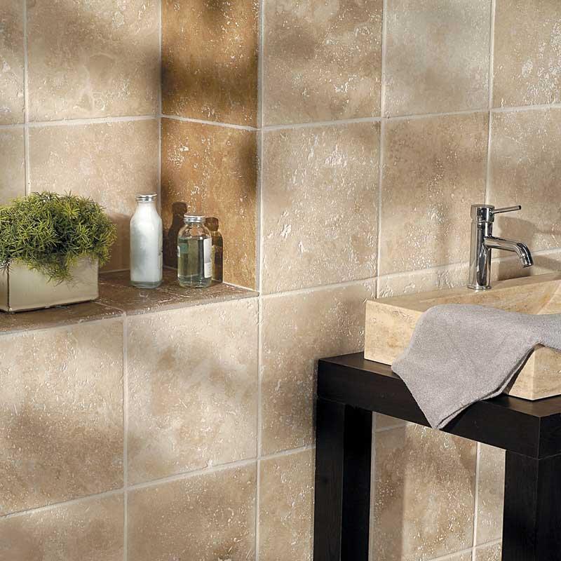 Kitchen Wall Tiles Ivory: Ivory Honed Travertine