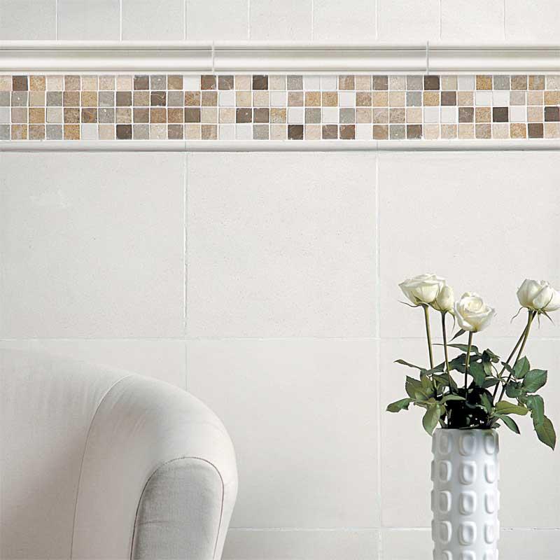 Champagne Honed Limestone Tiles 4x4