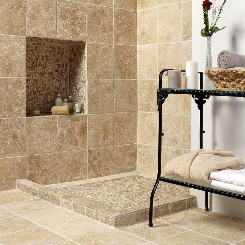 Seashell stone tile Country Floors