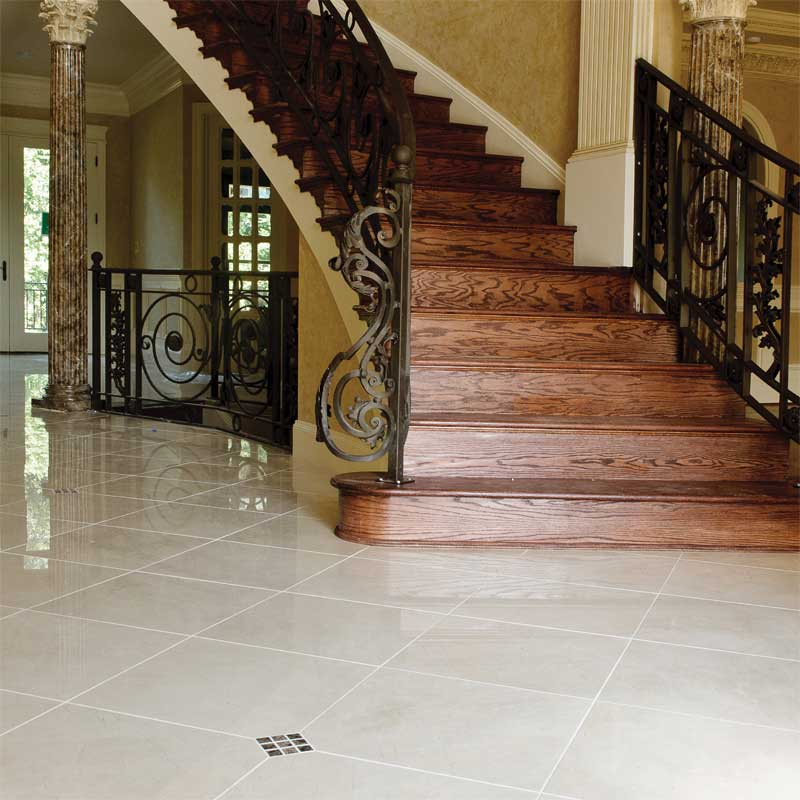 CREMA MARFIL POLISHED MARBLE TILES (TL12741)