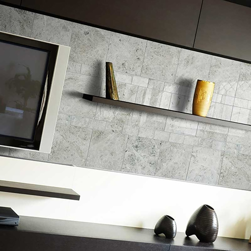 SILVER CLOUDS POLISHED MARBLE TILES (TL13368) SILVER CLOUDS POLISHED MARBLE TILES (TL13383)