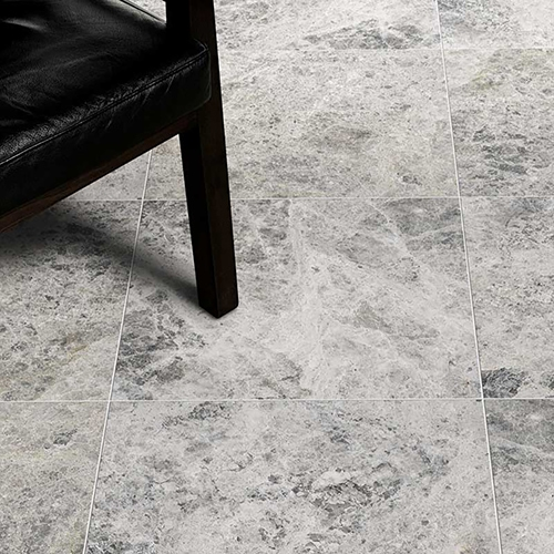 SILVER SHADOW HONED MARBLE TILES (TL13782)