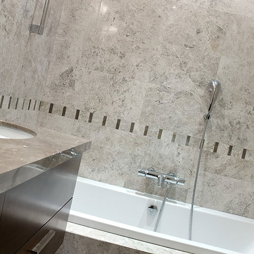 SILVER CLOUDS POLISHED MARBLE TILES (TL16364)