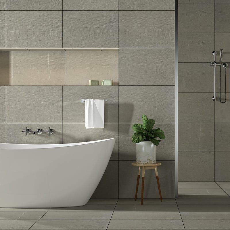 Bosphorus Full Grain Limestone Tiles 16x24