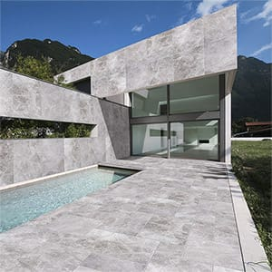 NEW SILVER SHADOW HONED MARBLE TILES (TL18546) NEW SILVER SHADOW HONED MARBLE TILES (TL18547)