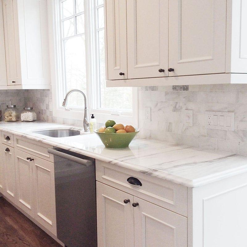 Granite Countertops Columbia Md: White Carrara Polished Marble