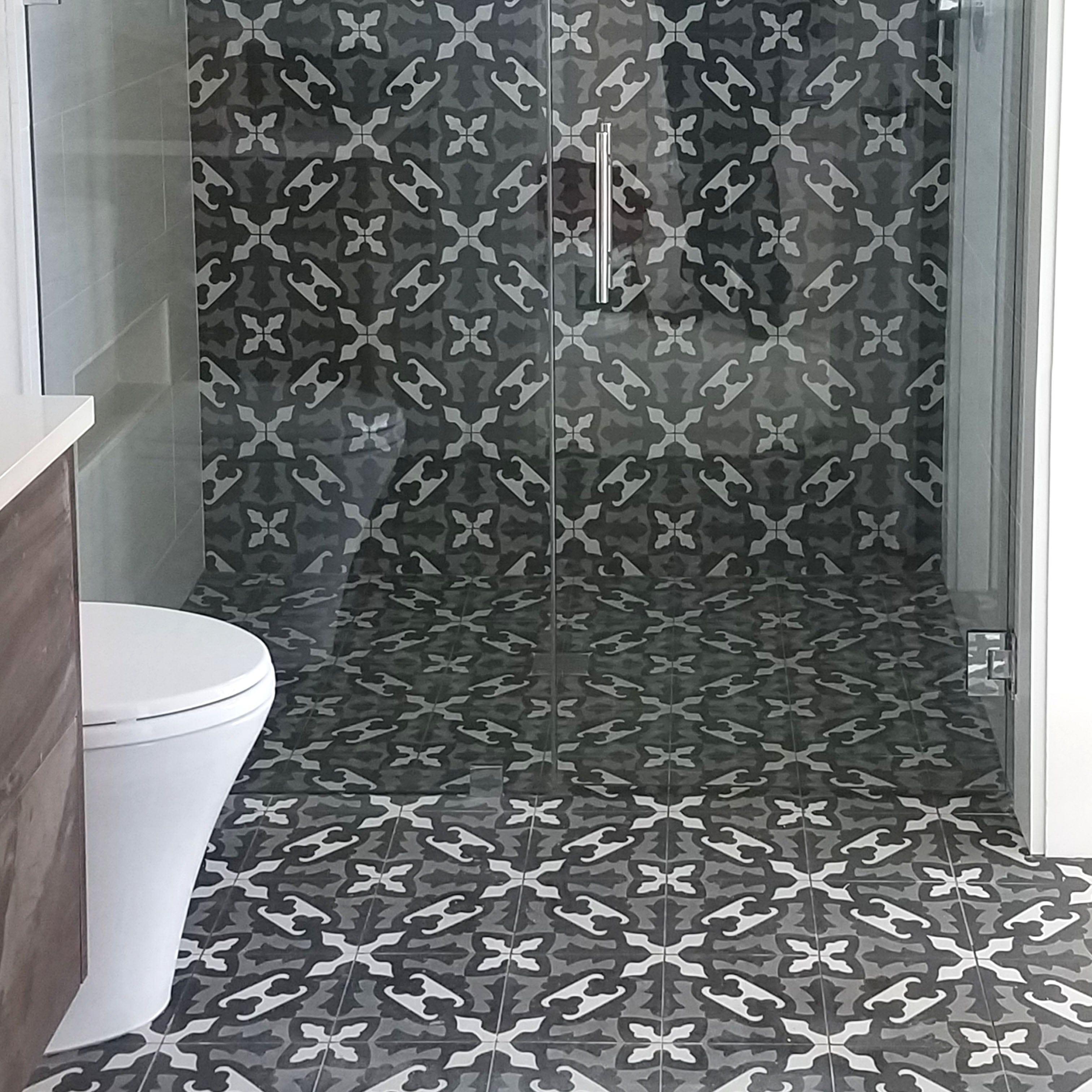 Farfalla Honed Cement Tiles 8x8