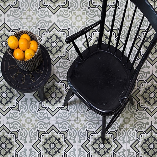 EGYPTIAN BLEND HONED CEMENT TILES (TL90908)