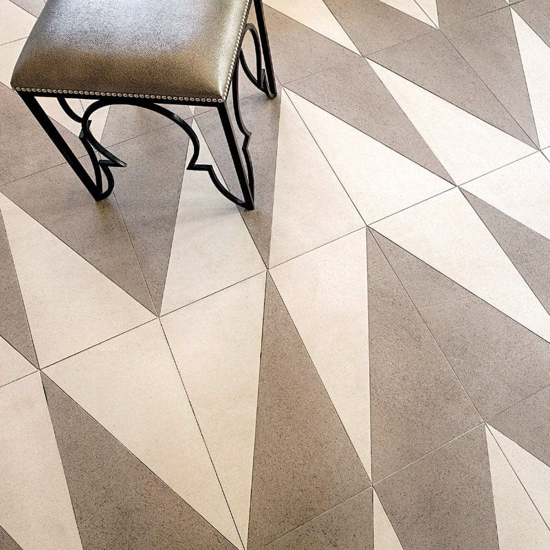 GRIGIO LIPICA HONED PORCELAIN TILES (WAC10003) BIANCO BRERA HONED PORCELAIN TILES (WAC10001)