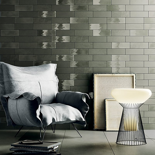 ARMY GREEN CANVAS PORCELAIN TILES (WIS12373) ARMY GREEN GLAZED CERAMIC WALL DECOS (WIS12378) ARMY GREEN ROCK PORCELAIN TILES (WIS12383)