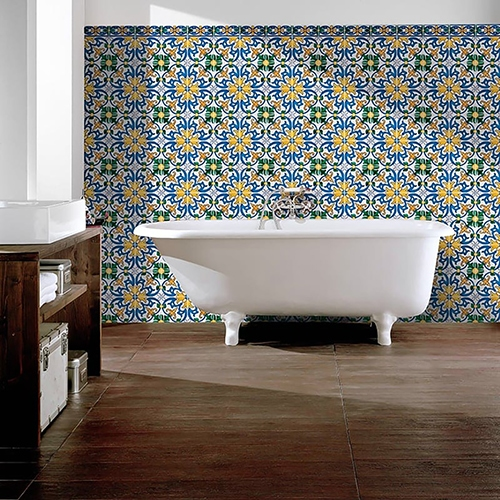 SEIXAS, BLUE & YELLOW GLAZED CERAMIC BEST SELLERS (WLV10307)