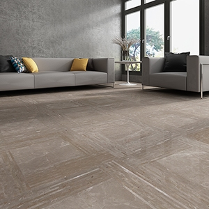 FAWN GREY POLISHED DOWNTOWN MARBLE PATTERNS (WMC10029)