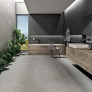 LIGHT GREY STRUTTURA CESELLO PORCELAIN TILES (WNB00291) LIGHT GREY NATURAL PORCELAIN TILES (WNB00292) SLATE NATURAL PORCELAIN TILES (WNB00323)