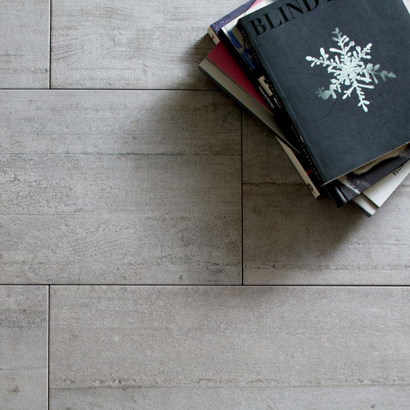 gris argento glazed porcelain tiles