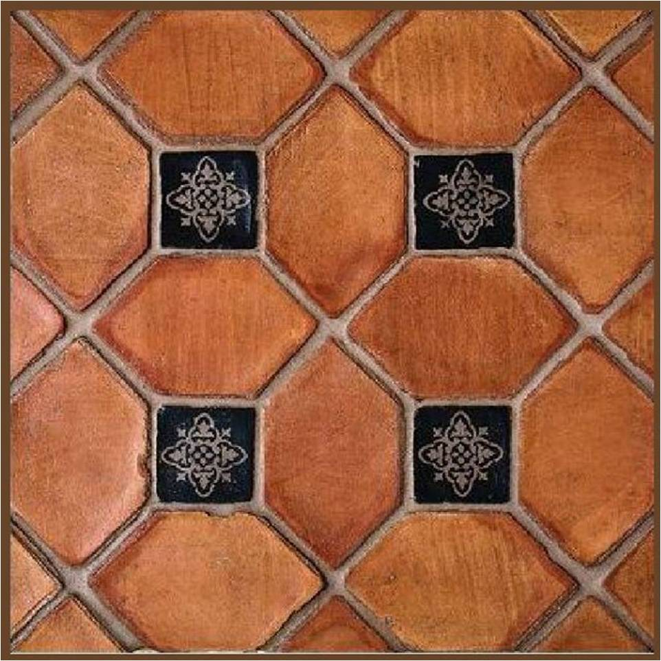 terracotta tiles: part two..antiqued terracotta - country
