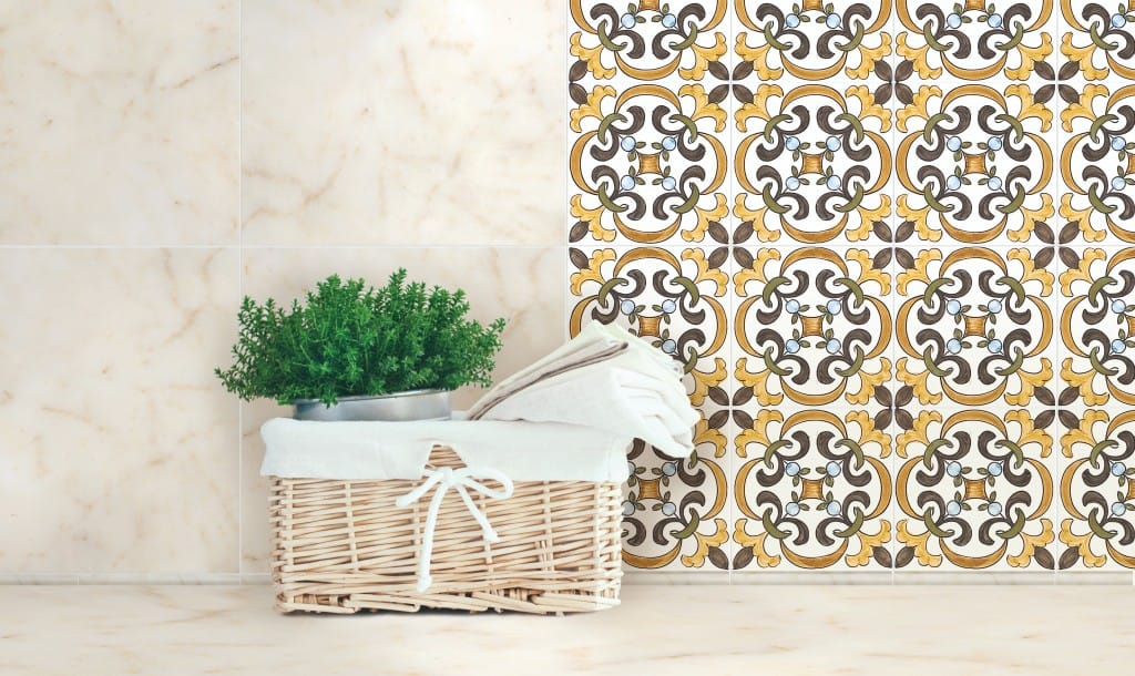 Pairing Marble and Ceramic Tile
