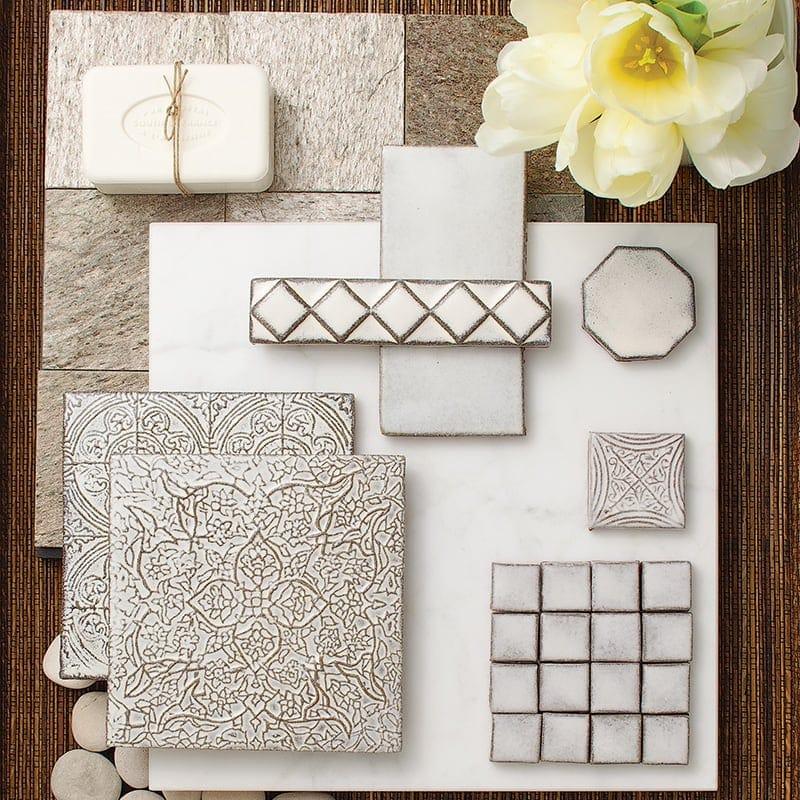 Ceramic Country Floors - Decorative ceramic tile trim pieces