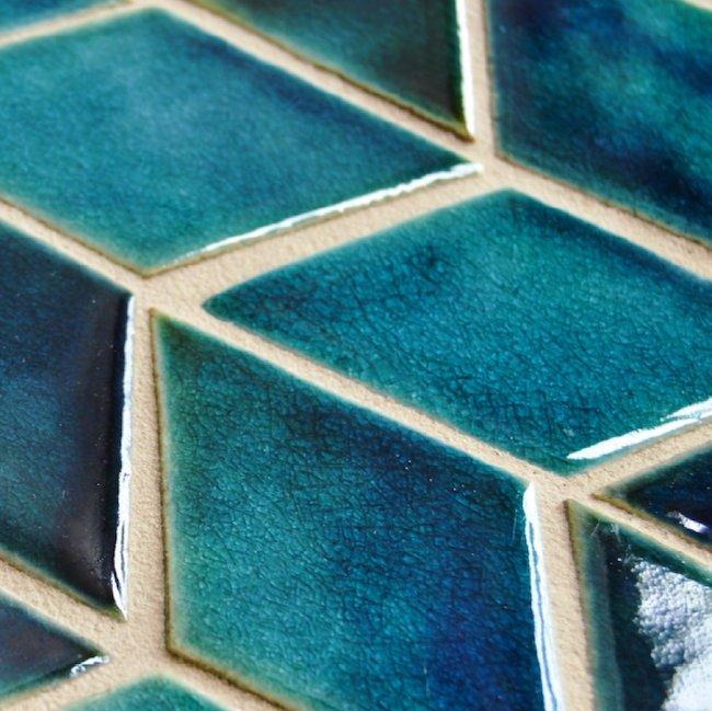Ceramic Tile in Glamorous Interiors