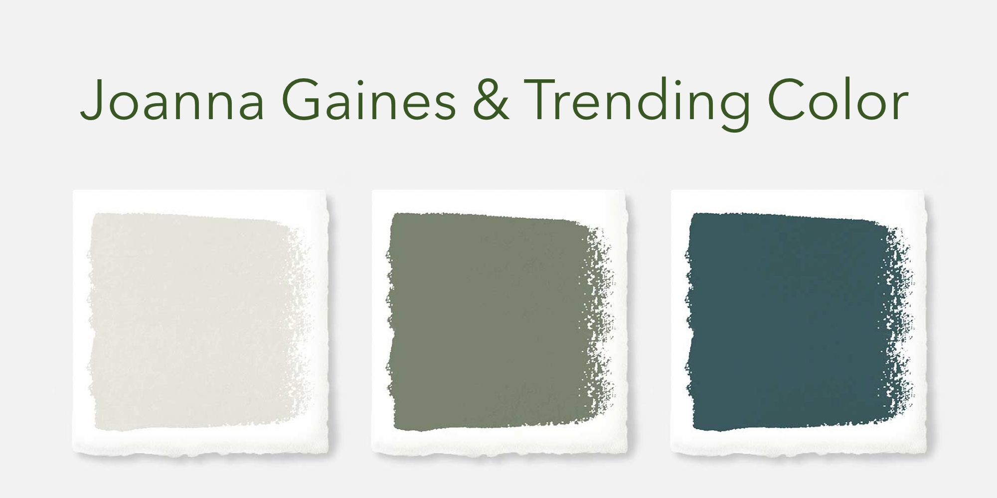 Joanna Gaines & Trending Color