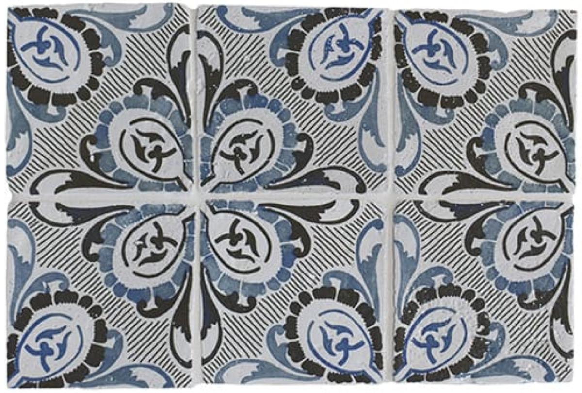 Antiqued Glazed Ceramic Tile